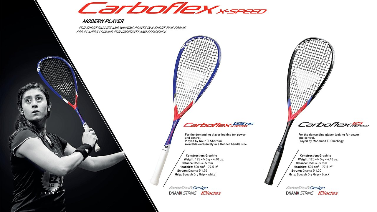 Tecnifibre Carboflex 125 X-Speed 1
